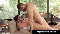Cubas Porn Queen Angelina Castro Gets A Big Black Cock & Cum
