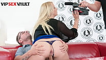VIP SEX VAULT - #Bambi Bell #David Perry - Big Booty Czech MILF Rides Big Cock On Casting Couch