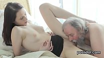Lovesome bookworm is teased and screwed by her elder lecturer - download porn videos