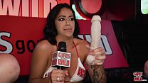 GIRLS GONE WILD - The Hostess With The Mostest, Mia Martinez, Plays With Herself's Thumb