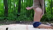 anal fucking in the Park with beautiful babe Evelina Darling . thumbnail