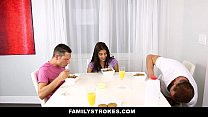 FamilyStrokes - My Stepsister Fucked My Dad and I pornhub video