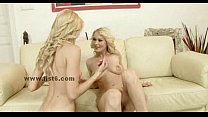 Blonde curly babes with sexy bodies fist - Download mp4 XXX porn videos