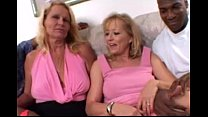 Blonde Moms share a Big Black Cock together in ...