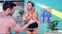 Hot Slut Office Girl (August Ames) With Big Boo... thumb