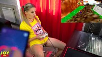 Letsplay Retro Game With Remote Vibrator in My ...