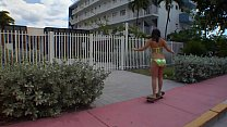 Pawg Brunette Teen Gets Fucked And Facialized At Hotel