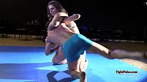 Bbw mixed wrestling and youtube