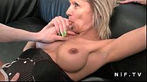 French mature cougar hard analized for her amateur casting couch pornhub video