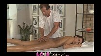 Love Creampie Young beauty gets oil massage and cum in her tight young hole Vorschaubild