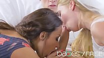 indian live sex ◦ NAKED NUPTIALS featuring (Anissa Kate, Violette Pink, Charlie Dean) thumbnail