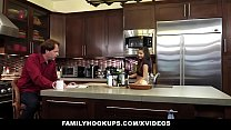 FamilyHookups- Horny Stepdaughter Offers Dad Handjob - 9Club.Top