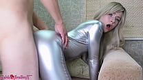 Hot Blonde Blowjob and Doggystyle Fucking after Party - Homemade