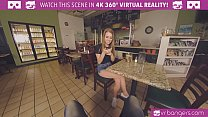 """VRBangers.com-Hot teen waitress Jill Kassidy has a special """"dish"""" for your cock"""