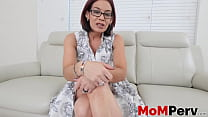 Ryder Skye getting her throat fucked and filled with jizz thumbnail