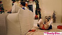My Family Pies - Horny Sisters Get Brothers Cock For Xmas S1:E2 thumbnail