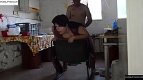 Recessed in a chair to behind and then jumps the fat. JAV274