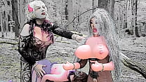 Sissy Romances Two Blow Up Dolls All Day Part 8 Cartoon Slideshow