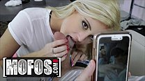 All Natural Cute Blonde (Victoria Steffanie) Fills All Her Holes With A Big Cock POV - MOFOS