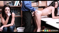 Skinny Teen Latina Shoplifter And Her Mom Thumbnail