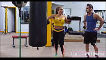 18666 Hot Big Ass & Tits MILF Fucked In Boxing Ring preview