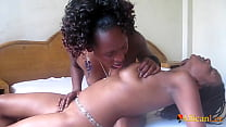 Fit African Lesbians Eat Pussy In Hotel