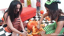Jayden Jaymes and Kristinas Pumpkin Fun image