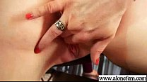 Girl Use Sex Toys Dildos Fingers To Please Herself movie-09