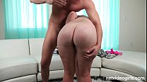 First timer gets a creampie at porn audition