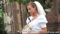 Gorgeous rejected bride Amirah gets fucked by d... thumb