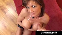 Horny Housewife Deauxma Gets Pounded Anally & G...