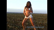 Outdoor Piss Fun with Indonesia horny Girl