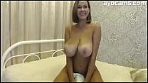 Big Natural Tits Mom on Webcam