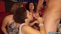 12556 Girls Suck Huge Cock at CFNM Party preview