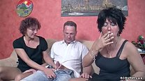 Two German MILF Mom Seduce Stranger to Fuck with Her Preview