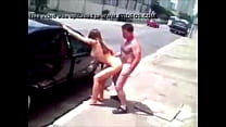 sex breaks on the street leaked from the young ones sucking and giving