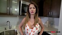 Hot Brunette Mom Caught Cheating & Punished By Son- Emily Addison