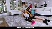 FamilyStrokes - Hot Step-Mom Fucked After Workout صورة