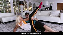 11444 FamilyStrokes - Hot Step-Mom Fucked After Workout preview