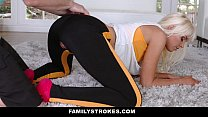 FamilyStrokes - Hot Step-Mom Fucked After Workout Thumbnail