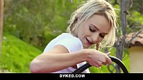 Dyked - Straight Teen Dominated By Hot Milf With Strapon thumbnail