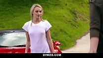Dyked - Straight Teen Dominated By Hot Milf Wit... thumb