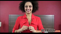 Skinny Black Teen First Porn Casting - TeenBlac...