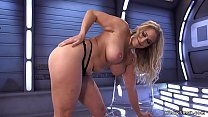 Big boobs Milf enjoys fucking machine