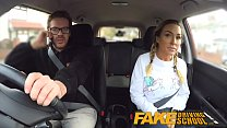 Fake Driving School Busty gym bunny big tits bounce as she squats on cock - 9Club.Top