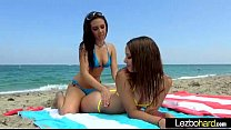 Lesbians Girls Playing In Hot Sex Tape mov-28