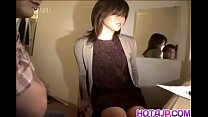Cute Asian girl likes getting screwed the doggy...