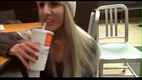 Cummed on my girlfriends face at mcdonalds Thumbnail