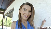Allinternal Alexis Brill strips and gets fucked thumbnail
