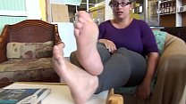 Cute Girl Soles Feet